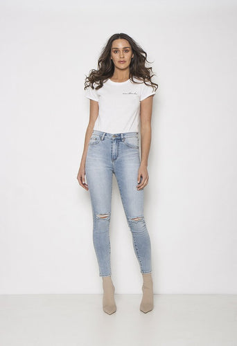 Bombshell Everlasting Blues Distressed Jeans