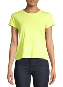 Neon Yellow Fitted Tee