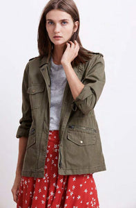 Ruby Forest Cotton Twill Jacket