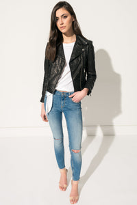 Piper cropped Jacket with All Over Studs