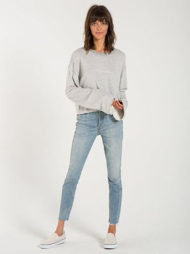Kona Heather Grey Sweatshirt