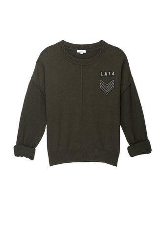 Stafford Military Patch Sweater