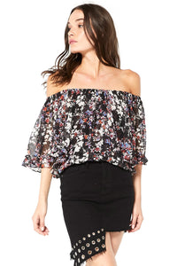 Abby Floral Off The Shoulder Top