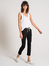Nikkita Black Deconstructed Crop Pants