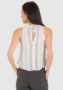 Silversands Sleeveless Tie Back Top