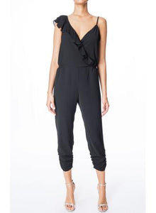Addison Black Combo Jumpsuit