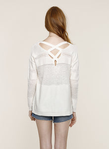 Emma Eggshell Sweater