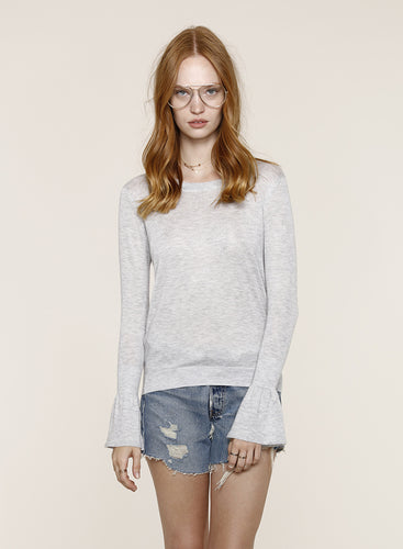 Fiona Heather Grey Sweater