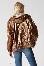 Reversible Metallic Anorak