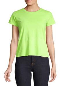 Neon Green Fitted Tee