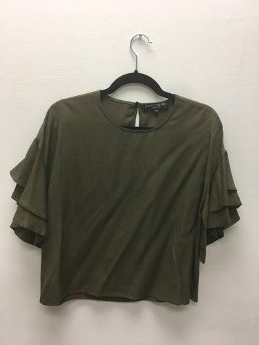 Army Boulder Short Sleeve Top