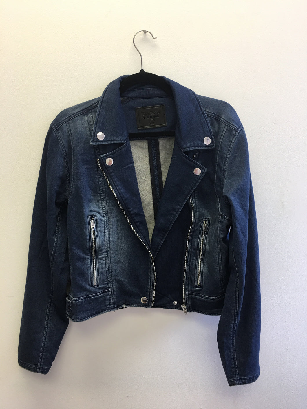 Hello Moto Denim Jacket