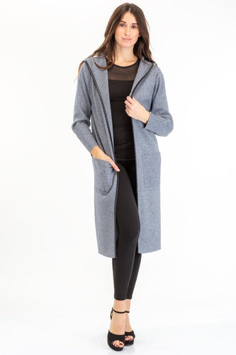 Karina Long Grey Jacket