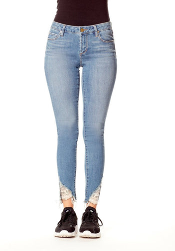 Suzy Elden Midrise Skinny Cropped Jeans