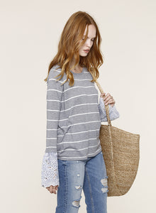 Maisie Heather Grey Sweater