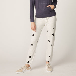 Ash Vintage Sweatpants with Hearts