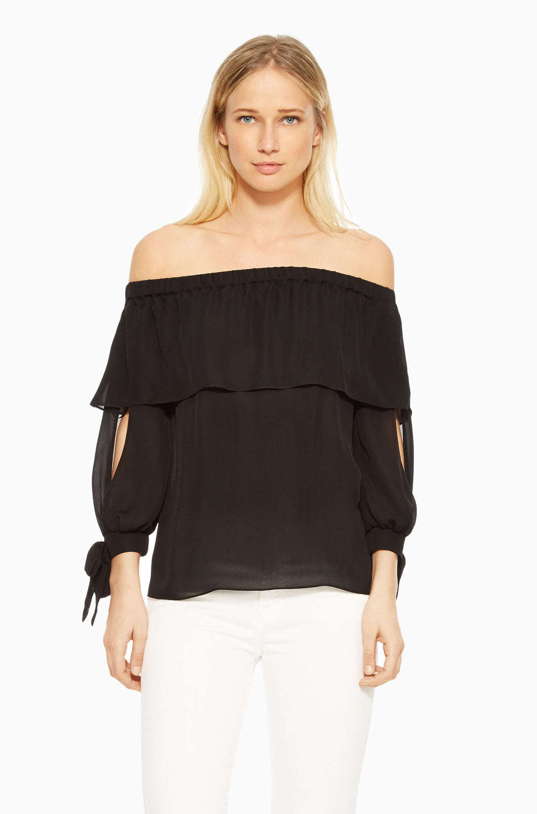 Mandy Black Off Shoulder Blouse