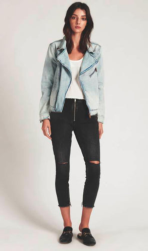 Vagabond Biker Denim Jacket