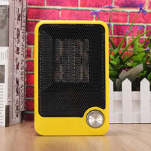 220V Portable Personal Ceramic Space Heater Electric Winter Warmer Fan