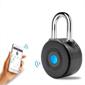 Bluetooth Smart Lock Anti Theft Alarm Lock for Cycling Motorcycle Door with APP Control