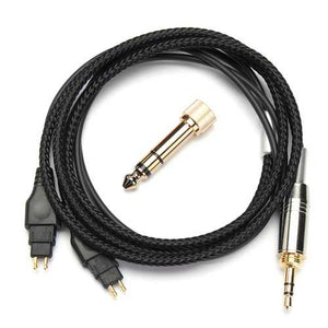 Replacement Cable For Sennheiser HD414 HD420 HD430 HD650 HD600 HD580 Headphone