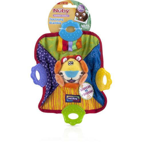Case of [16] Nuby? Plush Teething Blankie