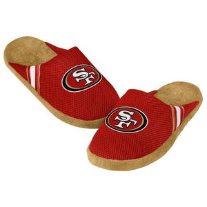 NFL San Francisco 49ers Jersey Slippers [Men's Medium - 9-10 US]