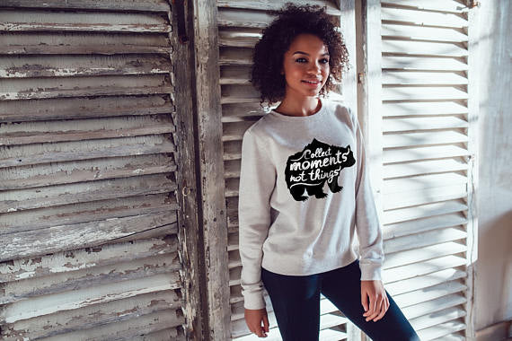 Bear Sweatshirt Women Sweatshirt Woman Hoodie Sweatshirt Female Clothing