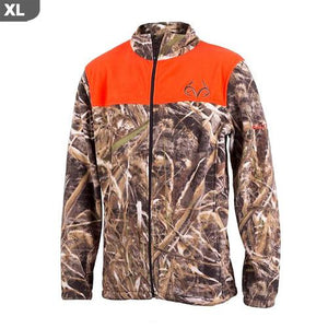 "Realtree Men""s Aspen Max-5 Camo & Blaze Jacket, XL"