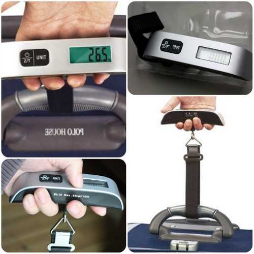 Geekcreit® Portable Digital Electronic Travel Luggage Hanging Scale