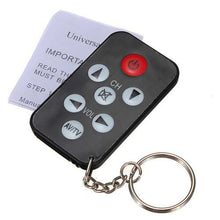 Universal Infrared IR Mini TV Remote Control Keychain Key Ring