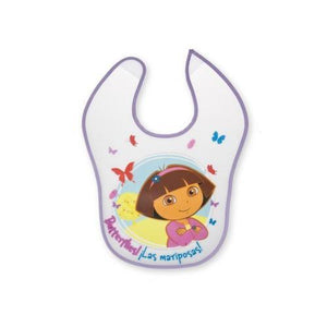 Case of [72] Nickelodeon Dora the Explorer Vinyl Baby Bib
