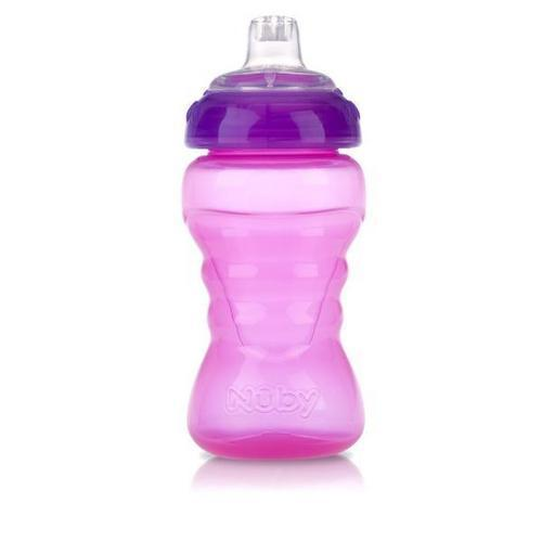 Case of [72] Nuby? No Spill Easy Grip Sipper Cup 10 oz 2-Pack