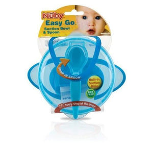 Case of [36] Nuby? Suction Bowl WIth Spoon and Lid