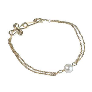 Bracelet 53 - choice of stone - Gold
