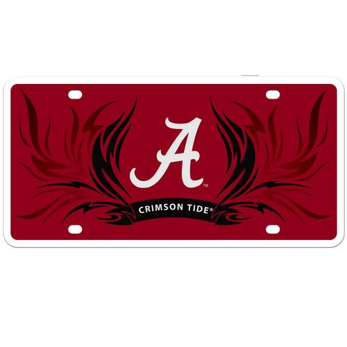 ALABAMA FLAME LICENSE PLATE