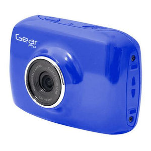 High-Definition Sport Action Camera, 720p Wide-Angle Camcorder With 2.0 Touch Screen SD Card Slot, USB Plug And Mic (Blue color)