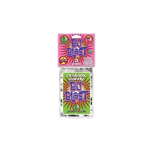 BJ Blast 3 Pack Cherry,Strawberry and Green Apple