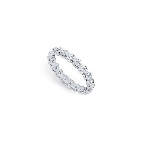 Platinum Diamond Eternity Band : 1.00 CT Diamonds