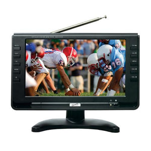 "Supersonic 9"" Portable Rechargeable Digital LCD TV"