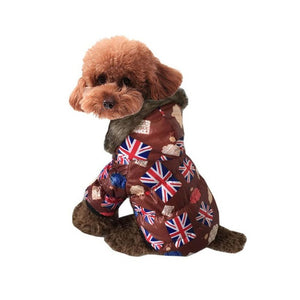 dog clothes for small dogs waterproof winter warm dog coat jumpsuit winter large dog clothes winter roupa cachorro