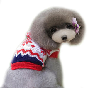 pet clothes for dog winter christmas sweater jacket winter