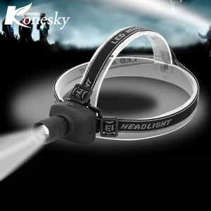 1W LED Headlamp White Headlight Camping Fishing Hiking Hunting Riding Head light