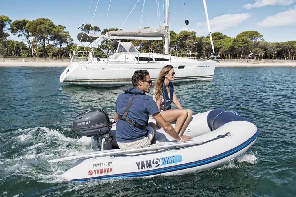 Yamaha 240T Inflatable Tender - Slatted Floor