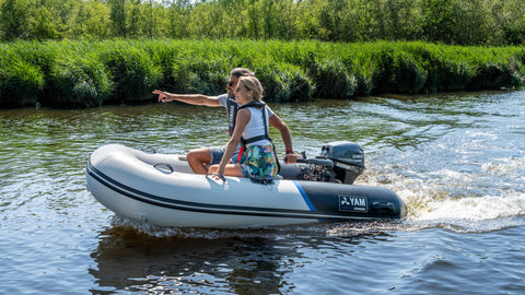 Yamaha 275 S Inflatable Tender - Aluminium Floor