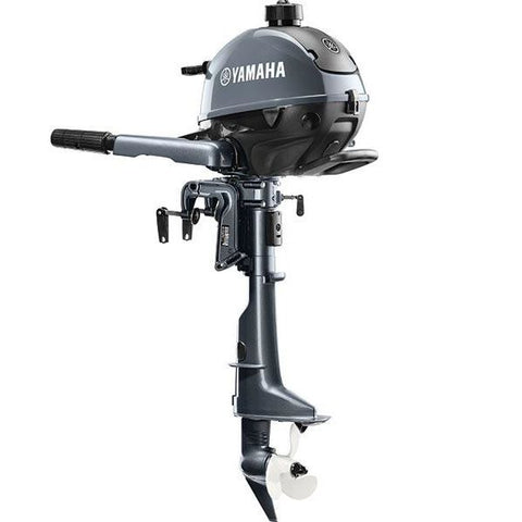Yamaha 2.5hp 4-Stroke Outboard Engine with Long Shaft & Tiller Handle