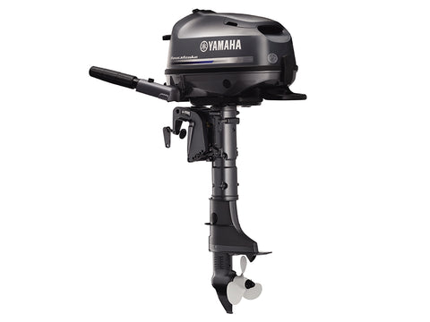 Yamaha 5hp 4-Stroke Outboard Engine with Long Shaft & Tiller Handle