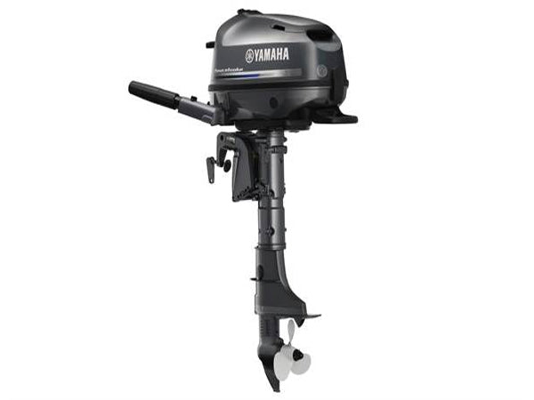 Yamaha 6hp 4-Stroke Outboard Engine with Long Shaft & Tiller Handle
