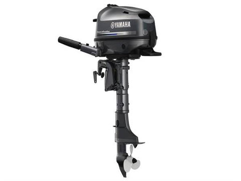 Yamaha 6hp 4-Stroke Outboard Engine with Short Shaft & Tiller Handle