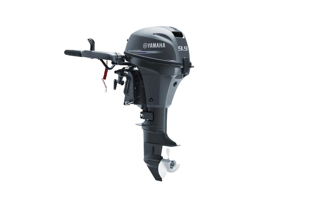 Yamaha 9.9hp 4-Stroke Outboard Engine with Long Shaft & Tiller Handle